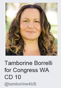 Tamborine Borrelli fo Congress WA CD 10